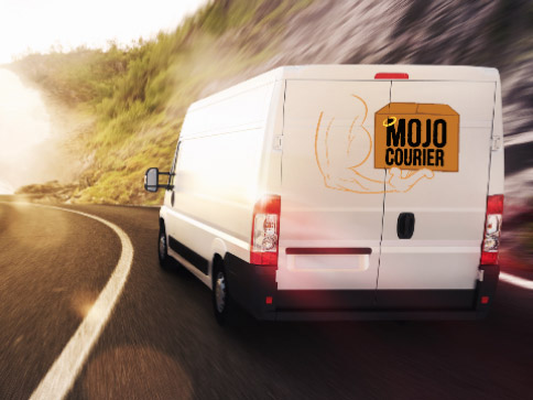 Mojo courier delivers medical supplies to Casselberry